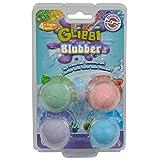 Glibbi Blubber, der sprudelnde Badespaß, duftet und färbt das Wasser • Blubber Badespaß...