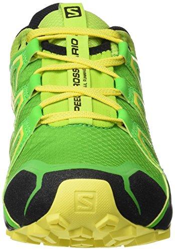 Salomon Herren Speedcross Vario 2 Trailrunning-Schuhe Lime Green/Classic Green/Black