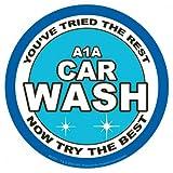 Breaking Bad Fernsehserie A1 car wash Sticker, Aufkleber - Grösse ca. 9,5x9,5 cm