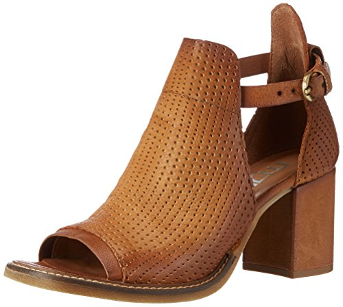 Mjus 848004-0302, Sandales  Bout ouvert femme Braun (Biscotto)