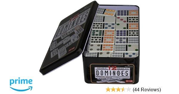 Weico Domino Doppel-12 91 Steine in Tasche 99057