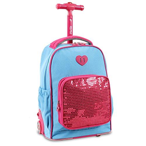 j-world-new-york-sparkle-kids-rolling-backpack-sky-blue