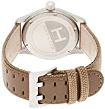 Hamilton-Field-h68201993-Quartz-Watch-Rechargeable-Steel-quandrante-Brown-Fabric-Strap