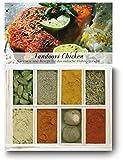 Feuer & Glas - 8 verschiedene Gewürze für Tandoori Chicken (40g)