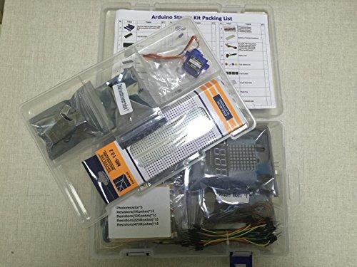 51%2B3I2CUDQL - KOOKYE Uno R3 ATmega328 completo kit de arranque para Arduino con 19 proyectos