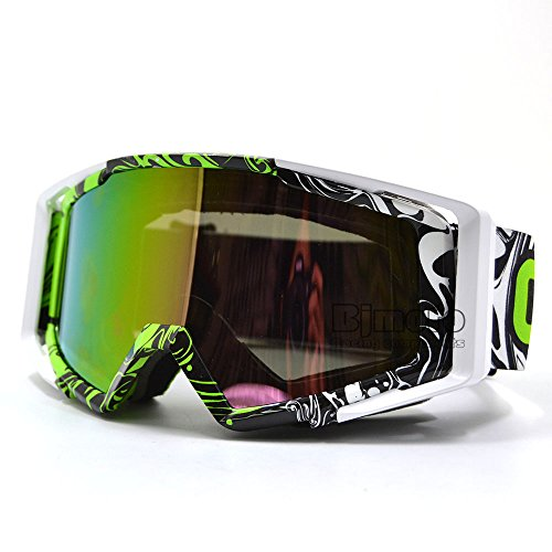 Gafas deportivas a prueba de polvo y antidistorsión para esquí o Motocross