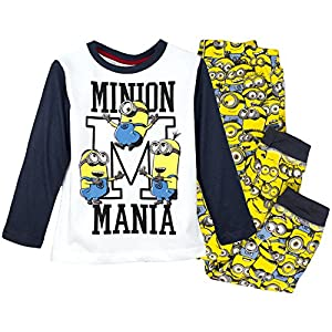 Official MINIONS Boys Pyjamas Set 100% Cotton 2-8 Years - NEW 2016 Collection