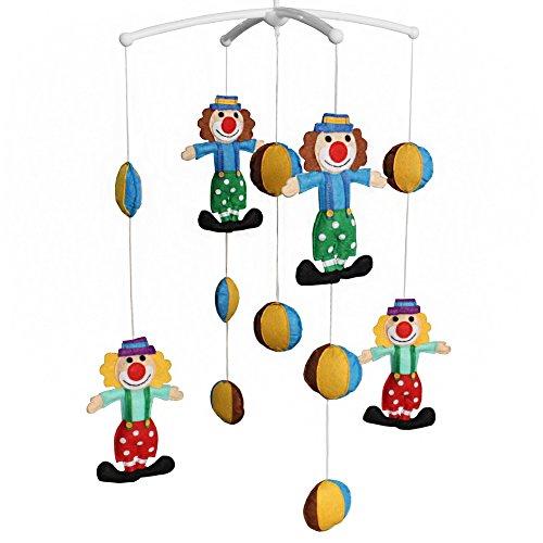 -hängende Spielwaren, Musik-Mobil, vorzügliches Geschenk (Clown Dekor)