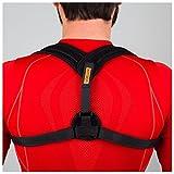 VOELUX Torna correttore di posizione regolabile clavicola Brace confortevole spalla corretta postura cinghia di supporto per gli uomini delle donne