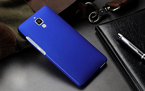 WOW Imagine Matte Rubberised Hard Case Back Cover For XIAOMI MI 4 MI4 (Blue)