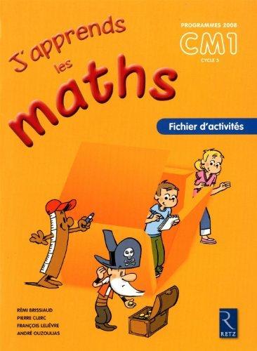 j-39-apprends-les-maths-cm1-de-pierre-clerc-13-avril-2010-broch