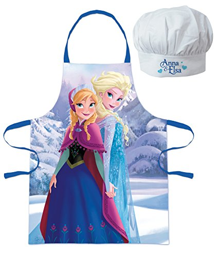 Rentier Sven Das Kostüm (Walt Disney Frozen Die Eiskönigin, Elsa und Anna (101566) Kinder Chefkoch-Set Kochschürze und Kochmütze,)