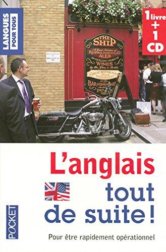 Coffret L'anglais tout de suite ! (livre + 1CD)
