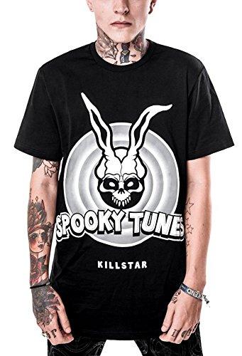 Killstar unisex T-Shirt DONNIE schwarz Schwarz