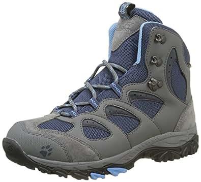 Jack Wolfskin Women's Mtn Storm Texapore Mid W High Rise Hiking Boots, Blue (Dark Sky 1165), 3 UK