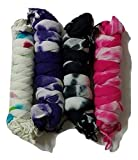 FABLOOK women printed dupatta pack of 4 ...