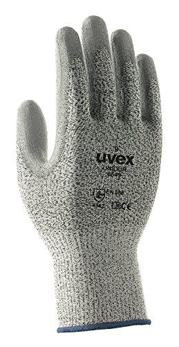 UVEX UNIDUR Sicherheit handschuhe. Schneide-, Abriebfestigkeit, Träne beständig gegen CE Standrad EN388 - 10/XL (Abriebfestigkeit)