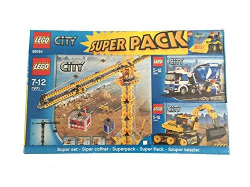 Preisvergleich Produktbild Lego City 66194 Super Pack 7246, 7248, 7905 und 7905