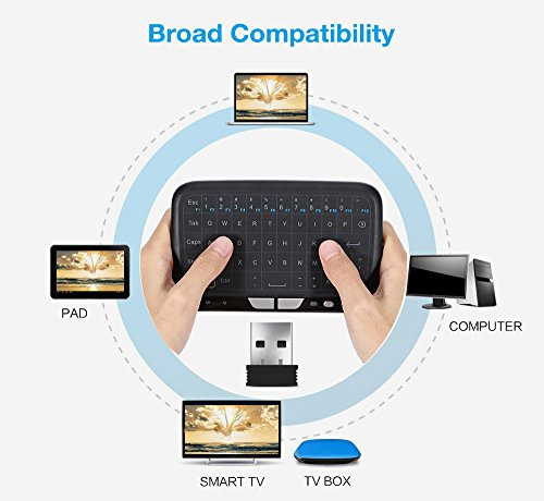 EARME H18 2 4GHz Mini Wireless Keyboard Touchpad Mouse Combo for PC