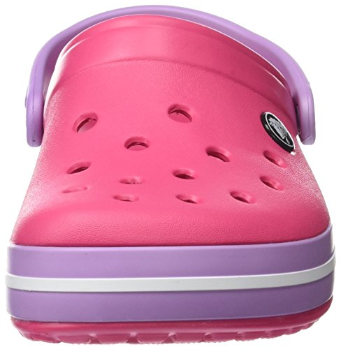 Crocs Crocband, Sabots Mixte Adulte Rose (Paradise Pink/iris)