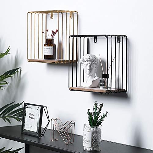 Home Storage & Organization Faithful Iron Wall-mounted Magazine Rack Book Newspaper Shelf Storage Hanging Basket Nordic Style Storage Rack Wrought Iron Mesh Rack Extremely Efficient In Preserving Heat