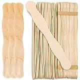 50pcs Eis Stick Manuelle Crafts Sticks Holz Popsicle DIY manuelle Modell Materialien–Summer Cool Sommer Werkzeug