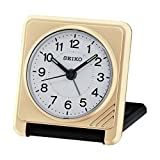 Seiko Travel Alarm Clock, Wood, Gold - Best Reviews Guide