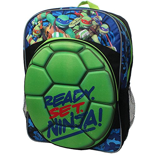 Nickelodeon-TMNT-Shell-Ready-Set-Ninja-Backpack
