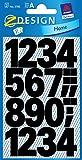 Avery Zweckform 3785 Zahlen Etiketten (0-9 25mm, wetterfeste Folie) 48 Aufkleber