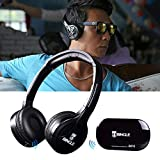Headset Original Bingle B616 Multifunzione Stereo, Cuffie Senza Fili con Microfono Radio FM per MP3 PC TV Audio