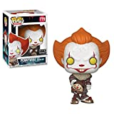 Funko 40629 POP. Vinyl: Movies: It: Chapter 2 - Pennywise W/Beaver Hat W/Chase (Styles May Vary)...