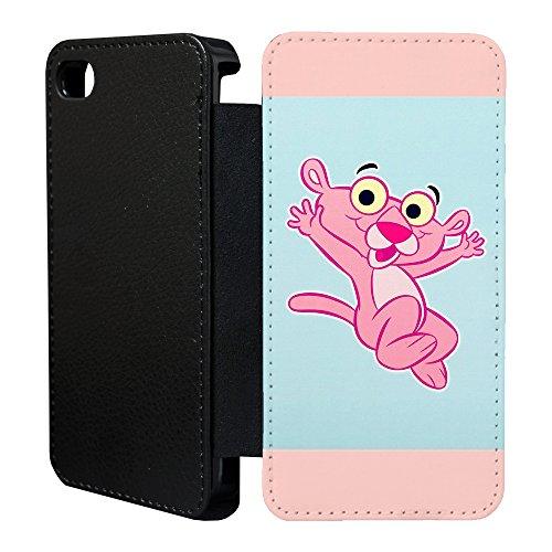 Pink Panther Flip Case Hülle für Apple iPhone IP ip5c - T68 - T1833 - Baby Pinky ()