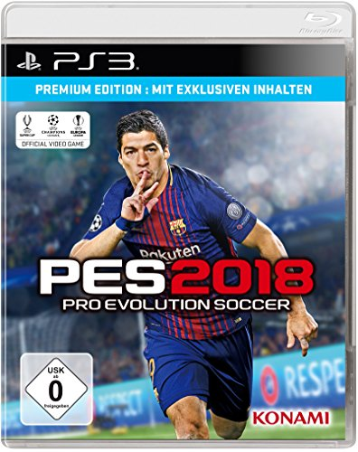 PES 2018 - Premium Edition - [PlayStation 3]