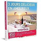 SMARTBOX - Coffret Cadeau - 3 JOURS DELICIEUX EN AMOUREUX - 350 Sejours : Maisons d'Hotes, Hotels de Charme, Auberges, Hotels 3 ou 4