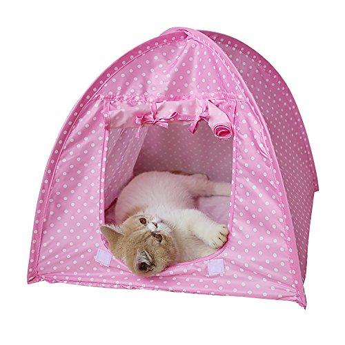 1faltbar Pet Hunde Katzen Zelt Haus Bett Camping Wasserdicht Home Outdoor-Reise Zelte