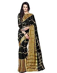 Buyonn Women's Net Saree (OFS1239-SARI_Blue)