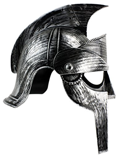 Spartacus Helm Kriegerhelm 300 Ritter (Perseus Gladiator Kostüm)