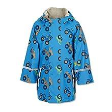 Sterntaler Jungen Regenjacke, Ungefüttert, Alter: 7-8 Jahre, Größe: 128, Azurblau