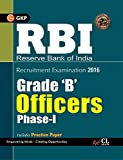 RBI Grade (B) Officers Phase-I (Includes Solved Paper) 2016