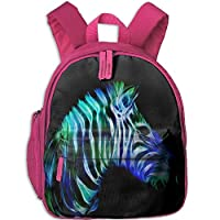 Fractal Zebra Toddler Kids Pre School Bag Cute 3D Print Children School Backpack