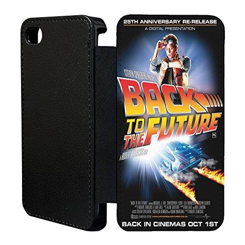 Film Poster Flip Case Cover Für Apple iPhone 6-A1271-Zurück in die Zukunft