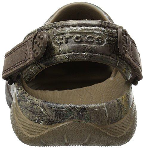 Crocs Swiftwater Realtree Xtra Clog Walnut/Espresso Größe EU 45-46 -