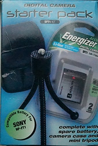 Energizer Digital Camera Starterpack SFT1 Kit (Kit Energizer)