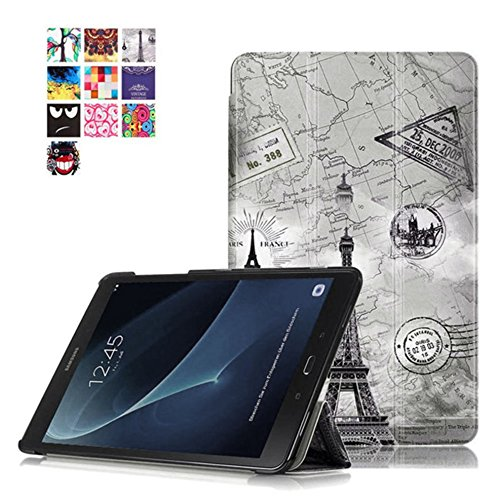 Hülle für Samsung Galaxy Tab A SM-T580 SM-T585 10.1 Zoll Schutzhülle Etui Tablet Tasche Smart Cover NEU (Sperrt Internet)