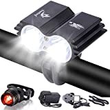 Galwad®5000Lm U2 XML 2 CREE LED Mountain Cycle lights Front Bike lights Bicycle