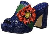 Pons Quintana Es retail Damen 6917.000 Pantoletten, Blau (Electric U332), 37 EU