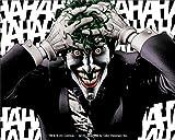 BATMAN Joker Hahaha, Original DC Comics Superhero Artwork, 4' x 5' - Long Lasting STICKER AUTOCOLLANT DECAL