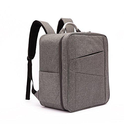Skryo Wasserdichte Tasche Schulter Rucksack Tasche für DJI Spark Drone + DJI VR Goggles (Grau)