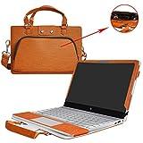 Labanema Yoga 730 13 Housse,2 en 1 spécialement Conçu Etui de Protection en Cuir PU + Sac Portable Sacoche pour 13.3