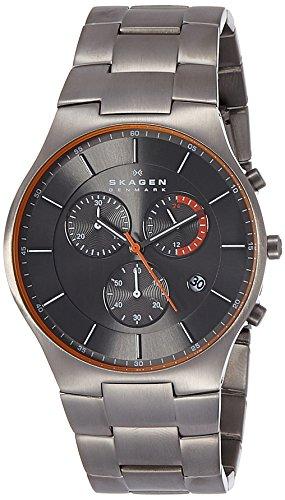 51%2B3g%2BuGe L - Skagen SKW6076I Grey Mens watch